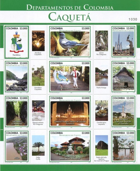 [Departments of Colombia - Caqueta, Typ ]