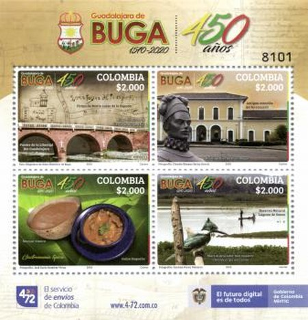 [The 450th Anniversary of Guadalajara de Buga, type ]