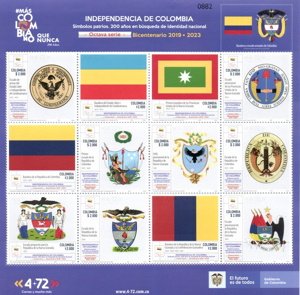[Independence of Colombia - National Symbols and the 200th Anniversary in the Search of National Identity, type ]