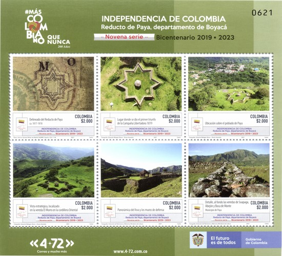 [Independence of Colombia - Reducto de Paya, Department of Boyaca, type ]
