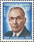 [Airmail - The 75th Anniversary of the Birth of Alfonso Lopez, 1886-1959, Typ ABE2]