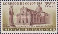 [Airmail - The 50th Anniversary of Valle del Cauca, Typ ABI]