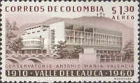 [Airmail - The 50th Anniversary of Valle del Cauca, Typ ABJ]