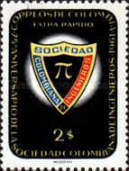 [Airmail - The 6th National Engineers' Congress, 1961 and 75th Anniversary of Colombian Society of Engineers, Typ ACM1]