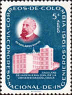 [Airmail - The 6th National Engineers' Congress, 1961 and 75th Anniversary of Colombian Society of Engineers, Typ ACN]