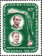 [Airmail - The 6th National Engineers' Congress, 1961 and 75th Anniversary of Colombian Society of Engineers, Typ ACO]