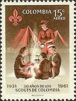 [Airmail - The 30th Anniversary of Colombian Boy Scouts and 25th Anniversary of Colombian Girl Scouts, Typ ACS1]