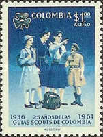 [Airmail - The 30th Anniversary of Colombian Boy Scouts and 25th Anniversary of Colombian Girl Scouts, Typ ACT1]