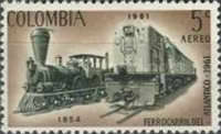 [Airmail - Completion of Colombia Atlantic Railway, Typ ACX]
