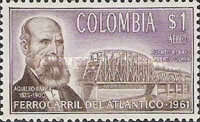 [Airmail - Completion of Colombia Atlantic Railway, Typ ACY]