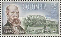 [Airmail - Completion of Colombia Atlantic Railway, Typ ACY1]