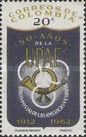 [The 50th Anniversary of Postal Union of the Americas and Spain, Typ ACZ]
