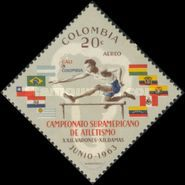 [Airmail - South American Athletic Championships, Cali, Typ ADF]