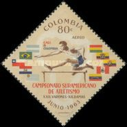 [Airmail - South American Athletic Championships, Cali, Typ ADF1]