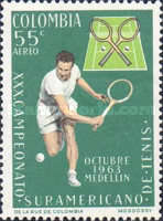 [Airmail - The 30th South American Tennis Championships, Medellin, Typ ADI]