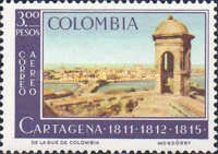 [Airmail - Cartagena Commemoration, Typ ADN]
