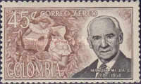 [Airmail - Manuel Mejia Commemoration, Typ ADR]