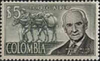 [Airmail - Manuel Mejia Commemoration, Typ ADS]
