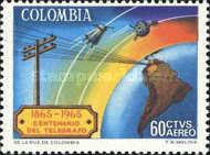 [Airmail - The 100th Anniversary of Colombian Telegraphs, Typ ADW]