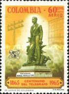 [Airmail - The 100th Anniversary of Colombian Telegraphs, Typ ADX]