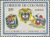 [Airmail - Visits of Chilean and Venezuelan Presidents, Typ AEQ1]