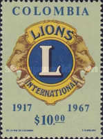[The 50th Anniversary of Lions International, Typ AFK]