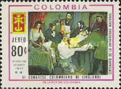 [Airmail - The 6th Colombian Surgeons' Congress, Bogota and 100th Anniversary of National University, Typ AFL]