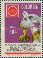 [Airmail - The 39th International Eucharistic Congress, Bogota, Typ AFY1]