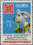 [Airmail - The 39th International Eucharistic Congress, Bogota, Typ AFY2]