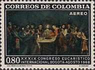 [Airmail - The 39th International Eucharistic Congress, Bogota, Typ AGE]