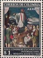 [Airmail - The 39th International Eucharistic Congress, Bogota, Typ AGF]