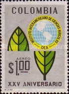 [Airmail - The 25th Anniversary of Inter-American Agricultural Sciences Institute, Typ AGR]