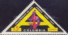 [Airmail - The 20th Anniversary of University of the Andes, Typ AGS]