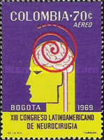 [Airmail - The 13th Latin-American Neurological Congress, Bogota, Typ AHC]