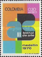 [Airmail - The 2nd Fine Arts Biennial, Medellin, Typ AHM]