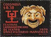 [Latin-American University Theatre Festival, Manizales, type AHP]