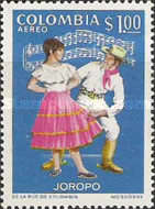 [Airmail - Folklore Dances and Costumes, Typ AHV]