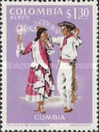 [Airmail - Folklore Dances and Costumes, Typ AIA]