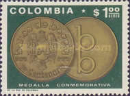 [Airmail - The 100th Anniversary of Bogota Bank, Typ AID]
