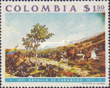 [Airmail - The 150th Anniversary of Battle of Carabobo, Typ AJL]