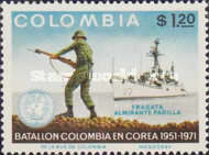 [The 20th Anniversary of Colombian Troops' Participation in Korean War, Typ AJR]
