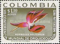 [Airmail - The 7th World Orchid-growers' Congress, Medellin, Typ AJX]