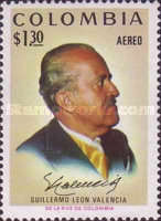 [Airmail - President Guillermo Leon Valencia Commemoration, 1909-1971, Typ AKG]