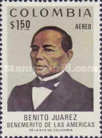 [Airmail - The 100th Anniversary of the Death of Benito Juarez, 1806-1872, Typ AKH]