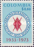 [The 40th Anniversary of Colombian Radio Amateurs League, Typ AKM]