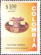 [Airmail - Inauguration of Museum of Pre-Colombian Antiques, Bogota, Typ AKO1]