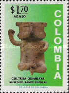 [Airmail - Inauguration of Museum of Pre-Colombian Antiques, Bogota, Typ AKR]