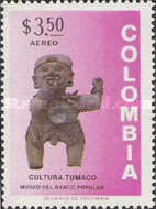 [Airmail - Inauguration of Museum of Pre-Colombian Antiques, Bogota, Typ AKS]