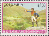 [Airmail - The 150th Anniversary of Battle of Bombona, Typ AKY]