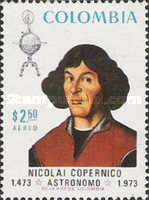 [Airmail - The 500th Anniversary of the Birth of Nicolas Copernicus, 1473-1543, Typ ALC]